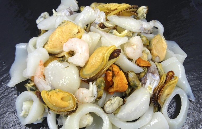 mélange fruits de mer